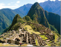 Machu Picchu, one of the 7 Man-Made Wonders of the World